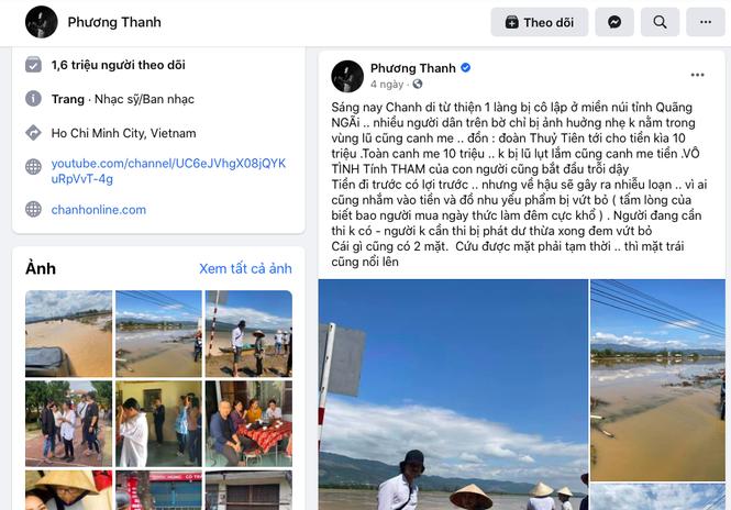 So TT&TT TP.HCM lam viec voi Phuong Thanh sau phat ngon ve tu thien o Quang Ngai