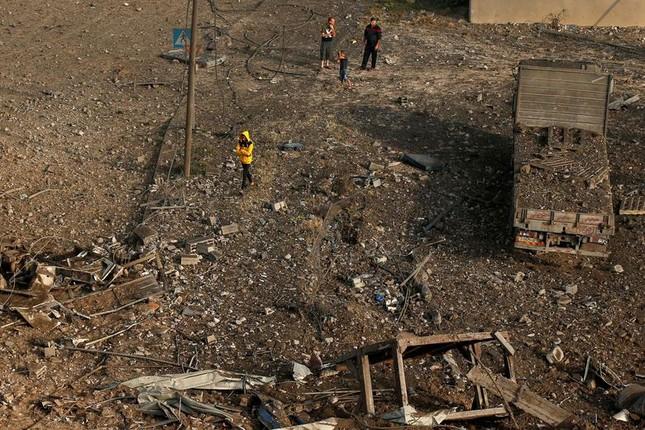 Can canh Dai Gaza tan hoang sau don khong kich cua Israel-Hinh-11