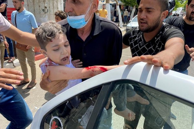 Can canh Dai Gaza tan hoang sau don khong kich cua Israel-Hinh-7