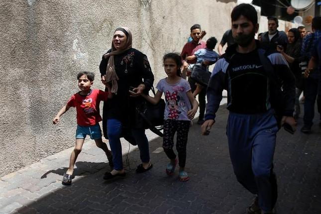 Can canh Dai Gaza tan hoang sau don khong kich cua Israel-Hinh-8