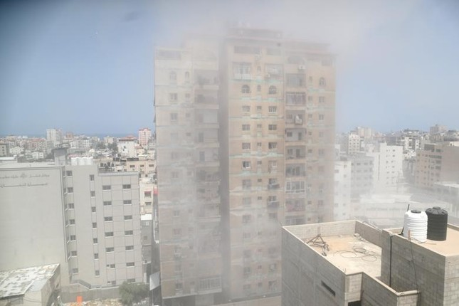 Can canh Dai Gaza tan hoang sau don khong kich cua Israel-Hinh-9