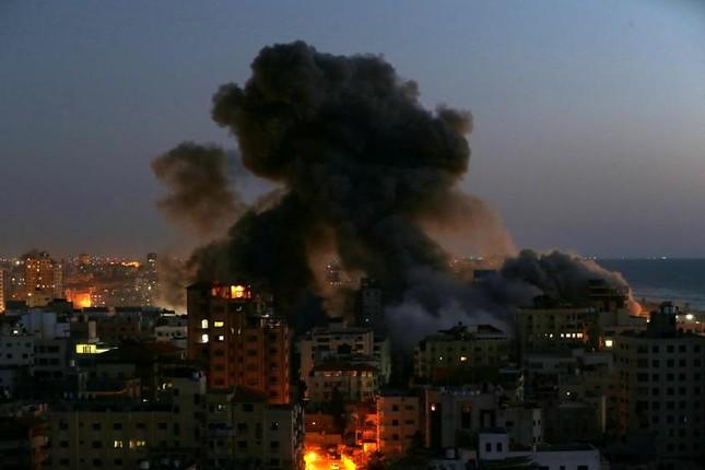 Can canh Dai Gaza tan hoang sau don khong kich cua Israel