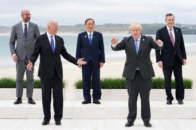 Cac nha lanh dao G7 va nhung khoanh khac an tuong-Hinh-10