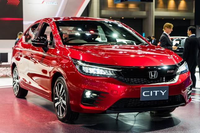 Can canh Honda City 2020 sap ve Viet Nam de 'dau' Toyota Vios-Hinh-2