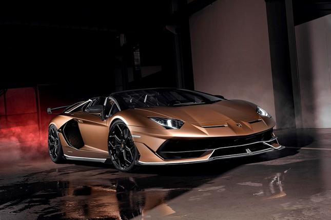Dai gia Cuong Do la tau sieu xe Lamborghini Aventador SVJ mui tran-Hinh-10