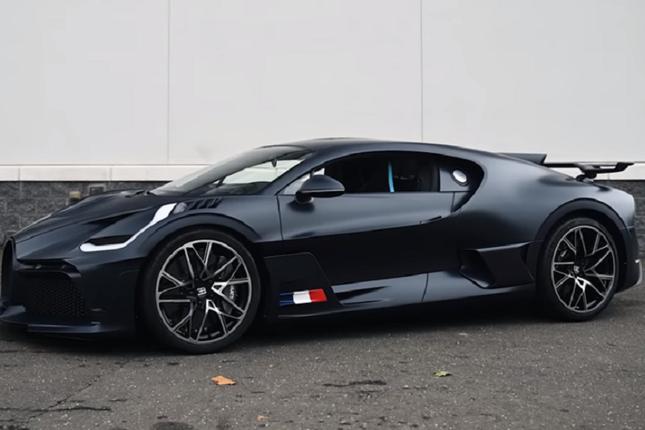Can canh sieu xe Bugatti Divo gia cao chot vot 130 ty dong