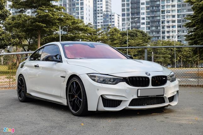 Dan choi bo ra chi 1,5 ty do BMW 428i thanh M4