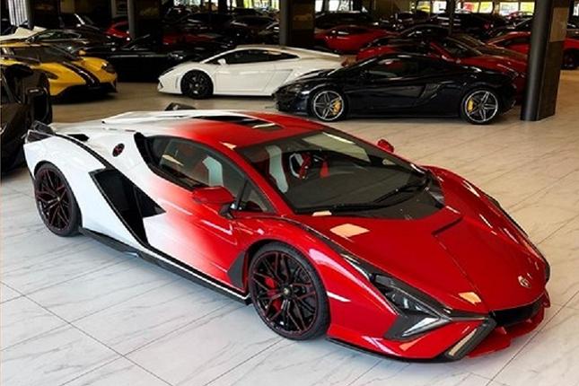 Can canh Lamborghini Sian hybrid gia hon 82 ty dong-Hinh-2
