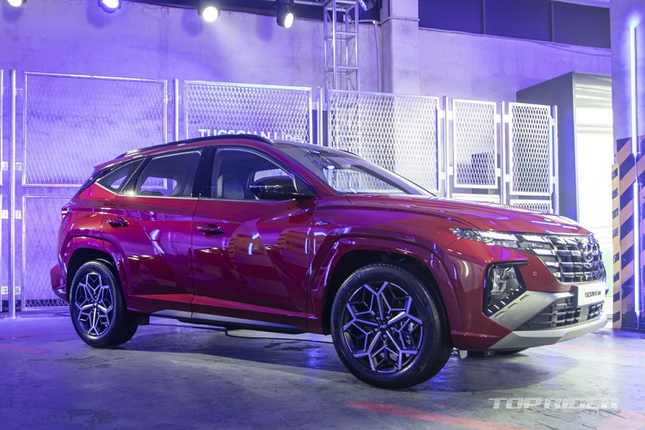 Can canh SUV co C the thao Hyundai Tucson N Line 2021