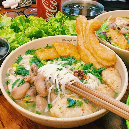 Cac mon an noi tang hap dan hut khach o Ha thanh-Hinh-8