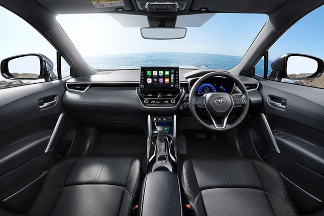 Can canh Toyota Corolla Cross 2021 gia re beo tai Nhat Ban-Hinh-6